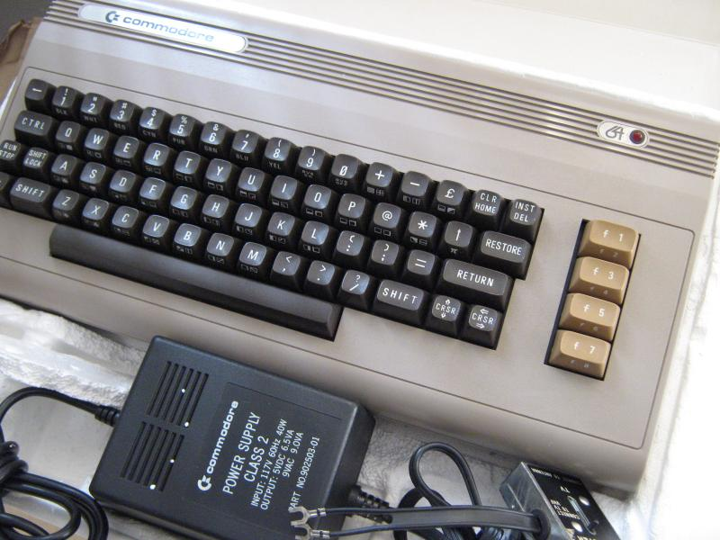 Commodore C64 ilk seri