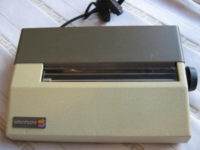 Apple'ın ilk yazıcısı .. Silentype